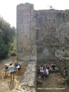 Castell Sant Iscle Vidreres arqueologia